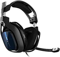 ASTRO Gaming A40 TR Wired Headphone, 4th Gen, V2 Audio, Dolby ATMOS, 3.5mm Jack, Interchangeable Microphone, for all